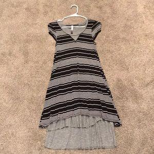 Kensie black and grey dress
